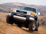 Toyota FJ Cruiser ZA-spec (GSJ15W) 2010 wallpapers