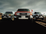 Toyota FJ Cruiser JP-spec (GSJ15W) 2010 wallpapers