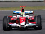 Toyota TF107 2007 pictures