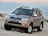 Images of Toyota Fortuner ZA-spec 2008–11