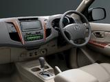 Pictures of Toyota Fortuner TW-spec 2008–11