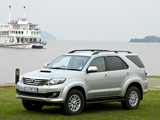 Pictures of Toyota Fortuner ZA-spec 2011