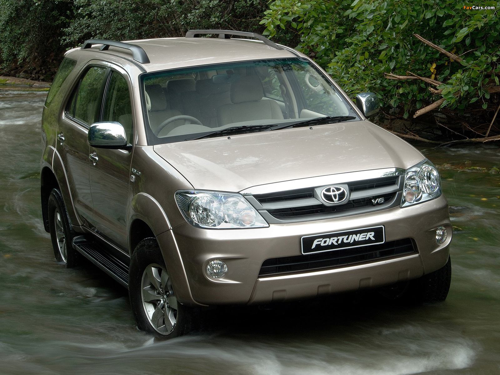 Toyota Fortuner V6 Za Spec 2005 08 Wallpapers 1600x1200