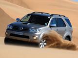Toyota Fortuner ZA-spec 2008–11 pictures