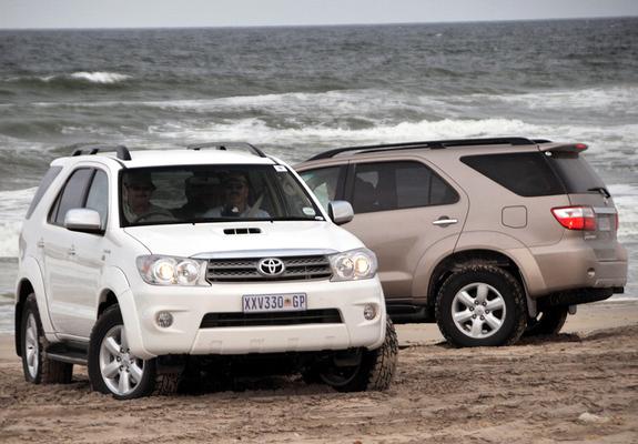 Toyota Fortuner Za Spec 2008 11 Wallpapers