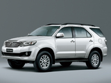Toyota Fortuner 2011 images