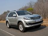 Toyota Fortuner ZA-spec 2011 images