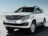 Toyota Fortuner 2011 pictures