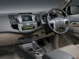 Toyota Fortuner MY-spec 2011 wallpapers
