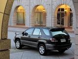 Photos of Toyota Harrier 1997–2003