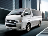 Images of Toyota Hiace Super GL (H206) 2013