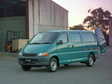 Photos of Toyota Hiace SBV Van AU-spec 1995–2006