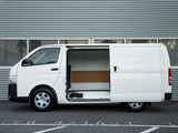 Pictures of Toyota Hiace LWB Van AU-spec 2011