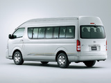 Toyota Hiace Combi High Roof 2010 pictures