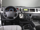 Toyota Hiace Combi High Roof 2010 wallpapers