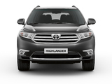 Images of Toyota Highlander EU-spec (XU40) 2010