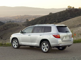 Photos of Toyota Highlander 2007–10
