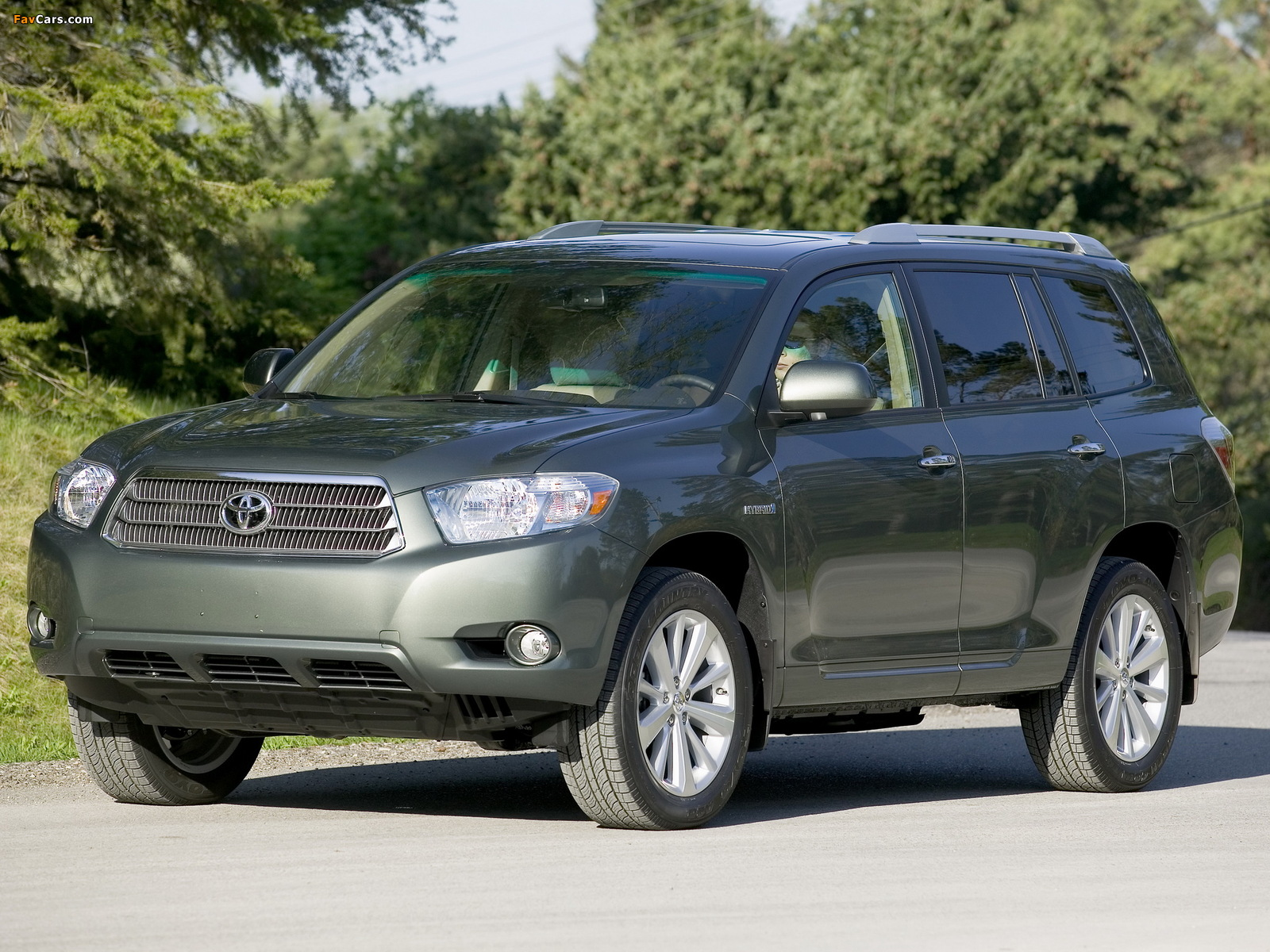 Pictures Of Toyota Highlander Hybrid 2007 10 1600x1200