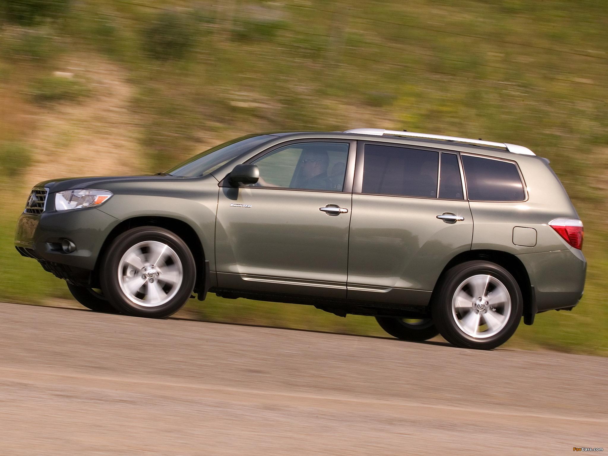 Toyota Highlander технические характеристики : Тойота ...