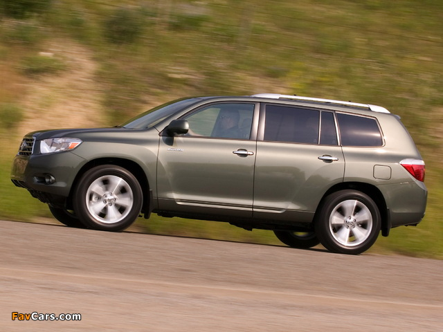 Pictures Of Toyota Highlander 2007 10 640x480