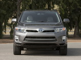 Pictures of Toyota Highlander Hybrid (MHU48) 2010
