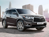 Pictures of Toyota Highlander CIS-spec 2014