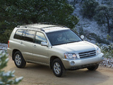 Toyota Highlander 2001–03 wallpapers