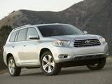 Toyota Highlander 2007–10 images