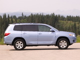 Toyota Highlander 2007–10 photos