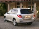 Toyota Highlander 2007–10 pictures