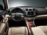 Toyota Highlander CN-spec 2009 photos