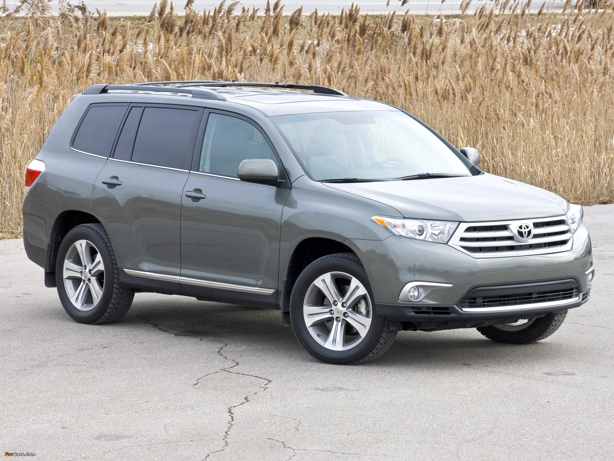 Toyota Highlander 2010 Images 2048x1536