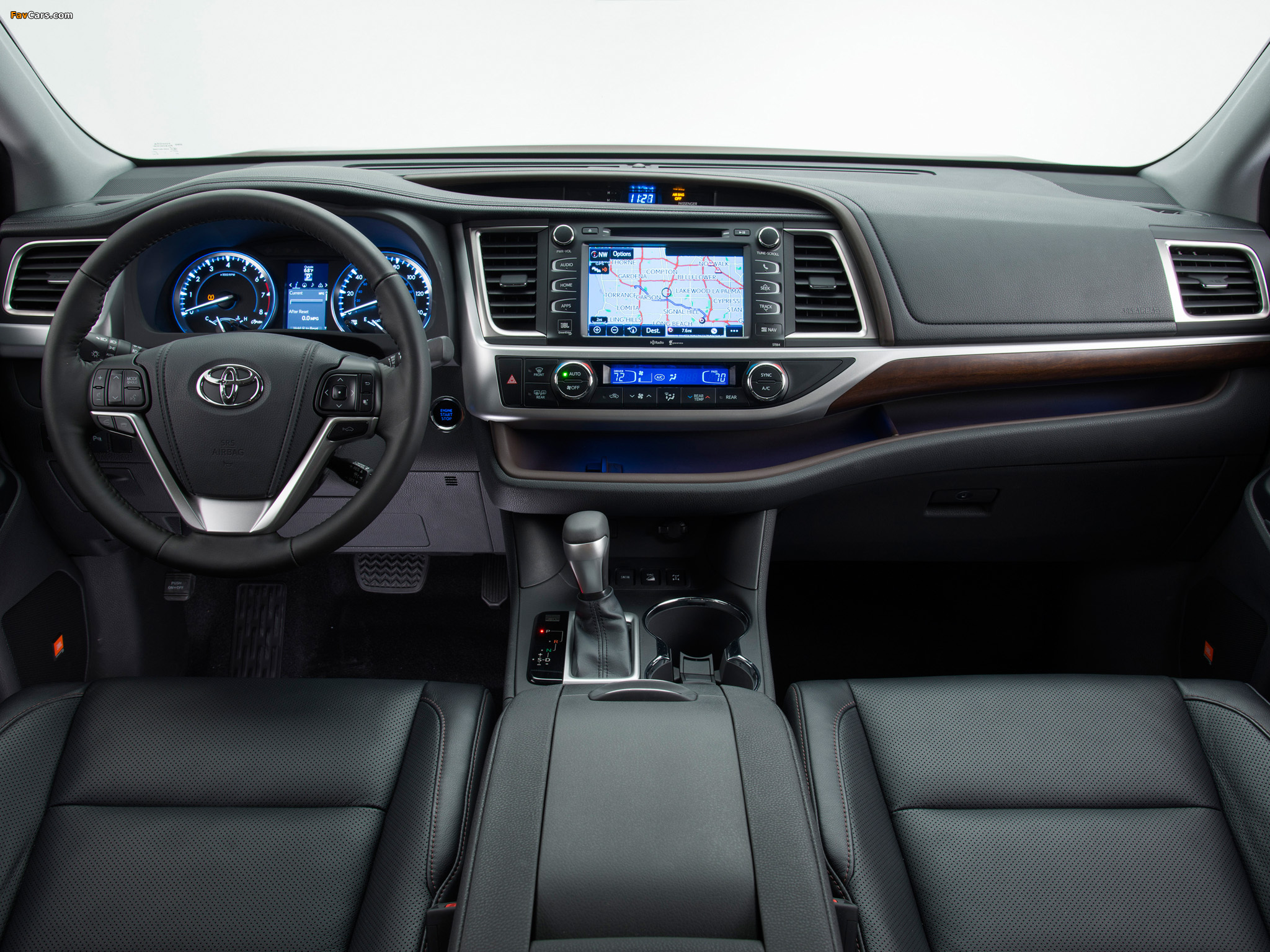 Toyota Highlander 2017-2018 фото цена комплектации ...