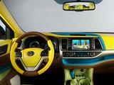 Toyota Highlander SpongeBob SquarePants Concept 2013 images