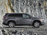 Toyota Highlander CIS-spec 2014 images