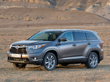 Toyota Highlander CIS-spec 2014 wallpapers