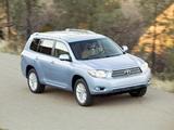 Toyota Highlander Hybrid 2007–10 wallpapers