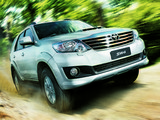 Pictures of Toyota Hilux SW4 2012
