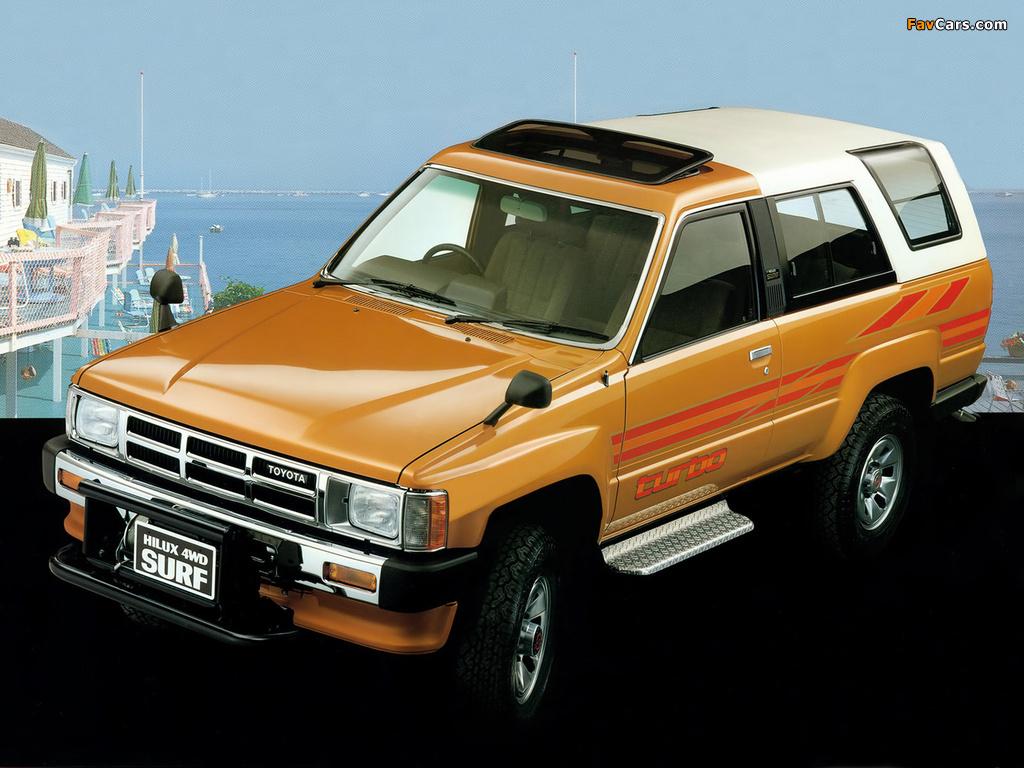 Toyota Hilux surf 60