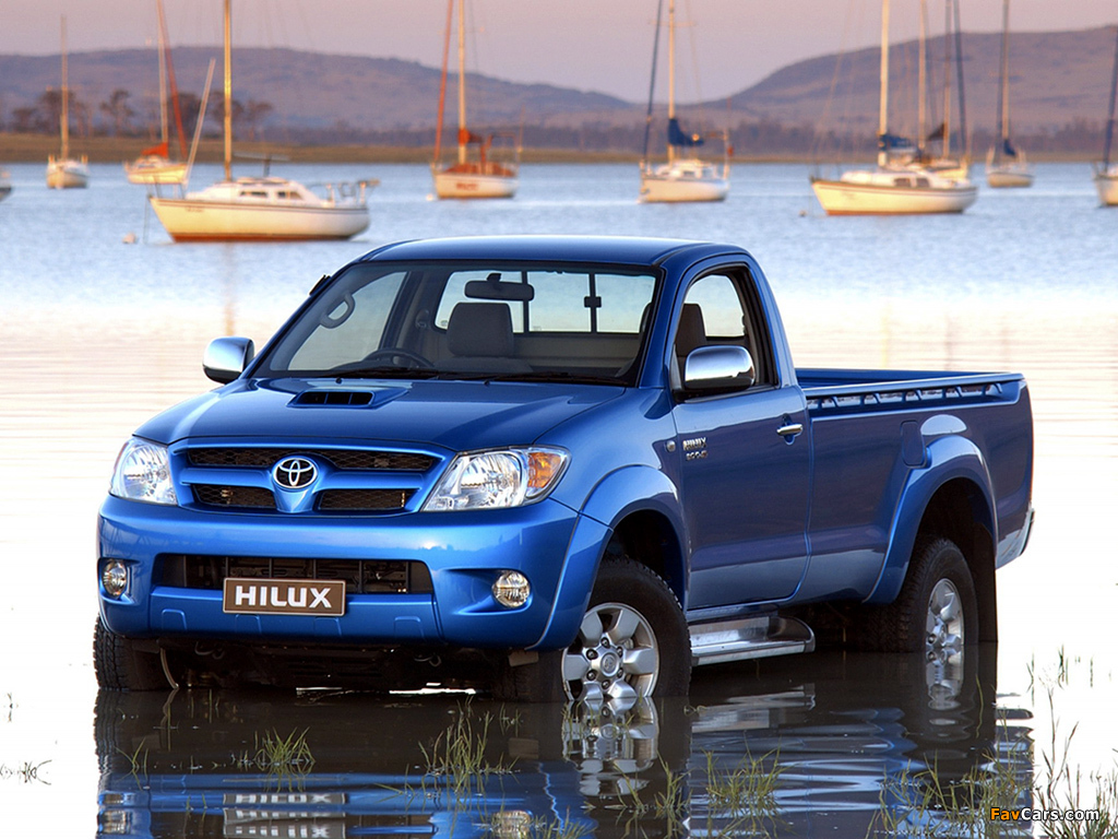 Images Of Toyota Hilux Single Cab Za Spec 2005 08 1024x768