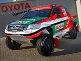 Images of Toyota Hilux Rally Car 2012