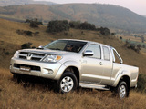 Photos of Toyota Hilux Xtra Cab AU-spec 2005–08