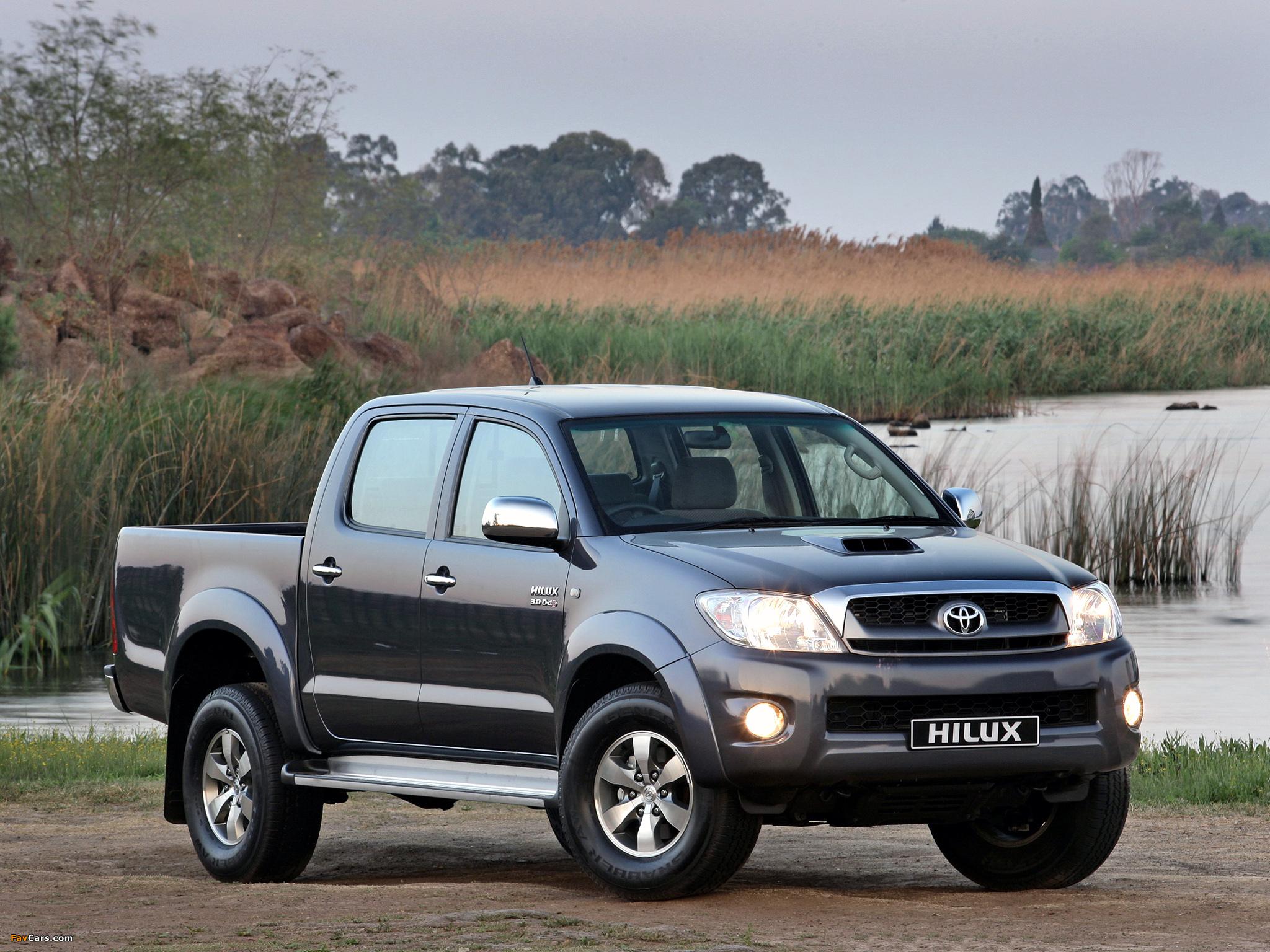 Photos Of Toyota Hilux Double Cab Za Spec 2008 11 2048x1536