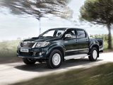 Photos of Toyota Hilux Double Cab 2011