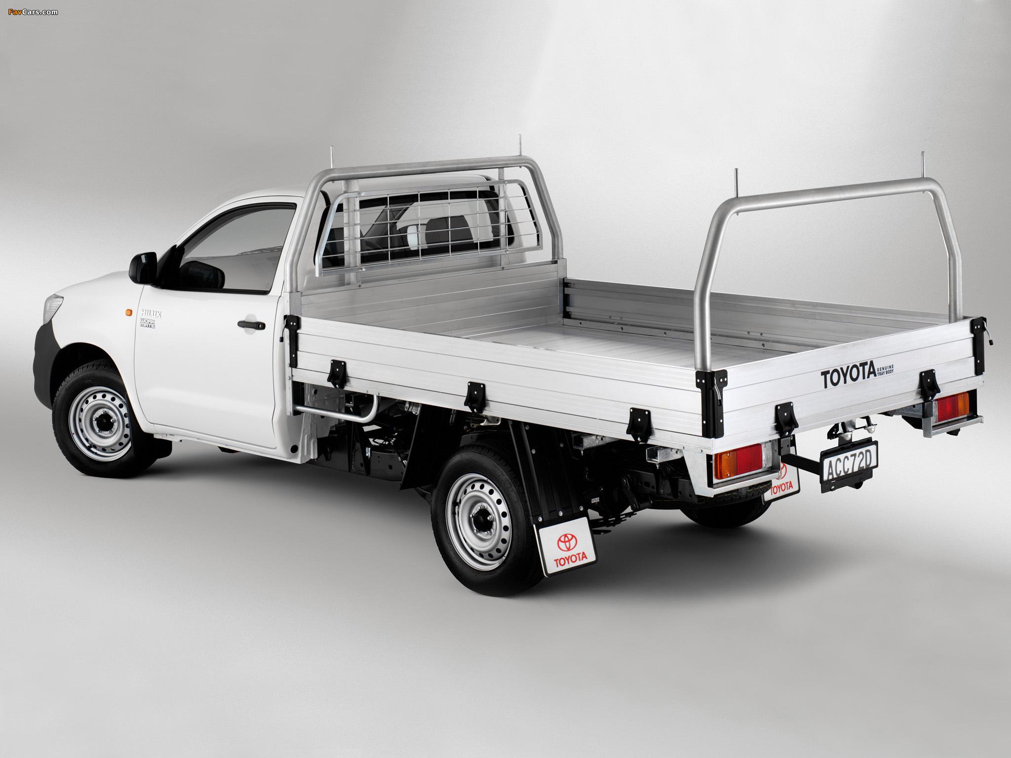 Toyota Hilux грузовой бортовой #10
