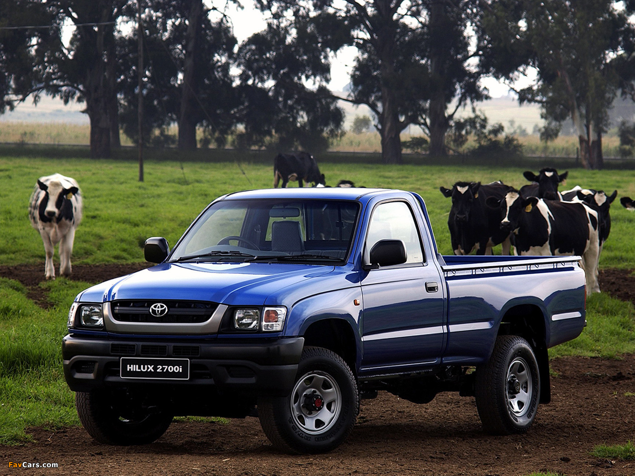 Pictures Of Toyota Hilux 2700i Single Cab Za Spec 2001 05