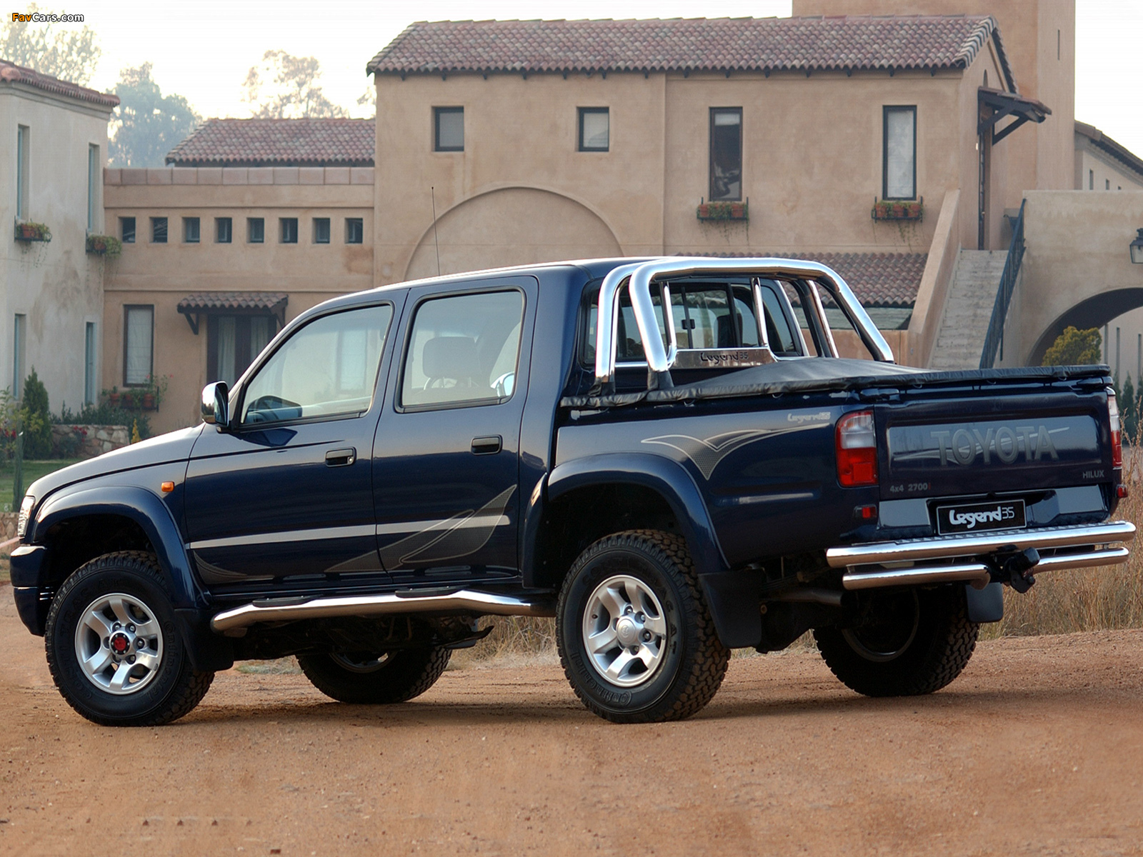 Pictures of Toyota Hilux 2700i Legend 35 Double Cab 2004 (1600x1200)