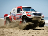 Pictures of Toyota Hilux Rally Car 2012