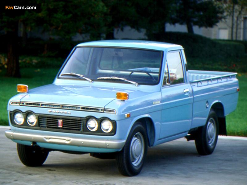 Toyota Hilux 1968 72 Photos 800x600