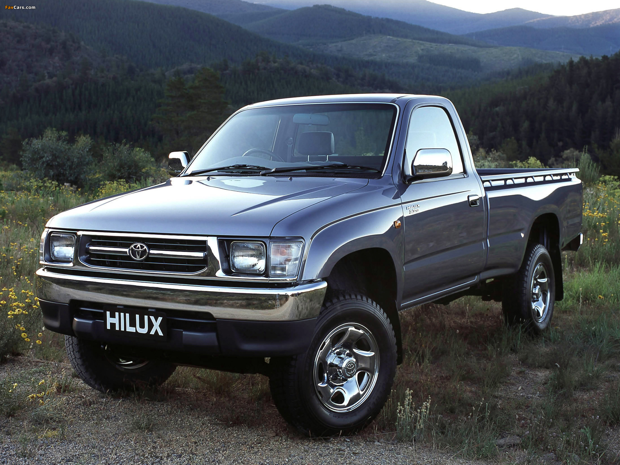 Toyota Hilux Single Cab Au Spec 1997 2001 Wallpapers